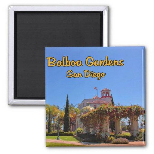 Balboa Garden Activity Center San Diego California Magnet