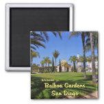 Balboa Gardens San Diego California 2 Inch Square Magnet