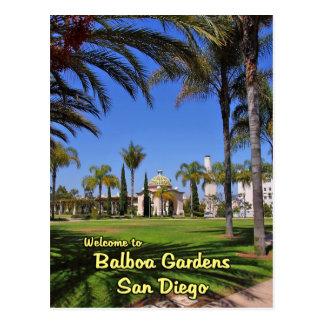 Balboa Gardens San Diego California Postcards