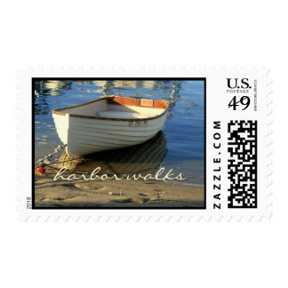 Balboa Harbor Row Boat- postage stamp