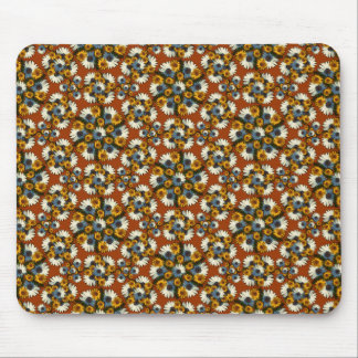 Balboa Hex Wreaths Sm Any Color Mouse Pad