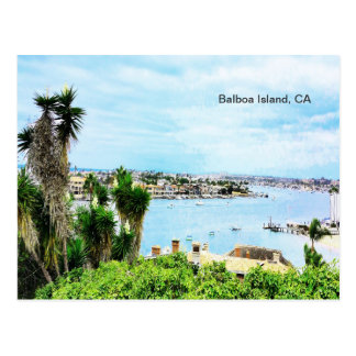 Balboa Island, CA Postcard