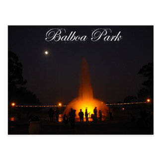 Balboa Park 5 Postcard