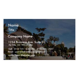 Balboa Park Arboreum In San Diego Business Card Template
