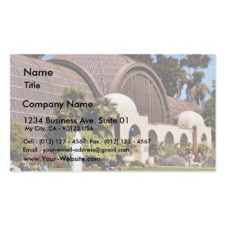 Balboa Park Arboreum San Diego Business Card