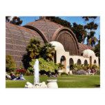 Balboa Park Arboreum San Diego Postcard