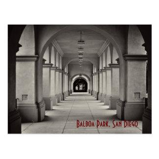 Balboa Park Archways Postcard