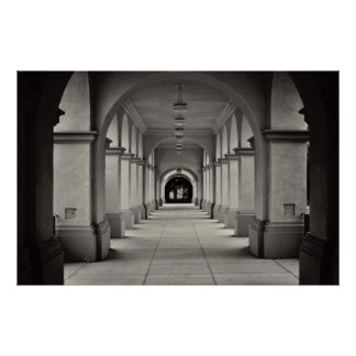 Balboa Park Archways Poster