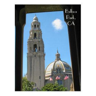 Balboa Park, CA Postcard