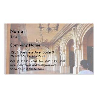 Balboa Park Column Business Card Templates
