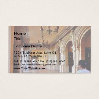 Balboa Park Column Business Card