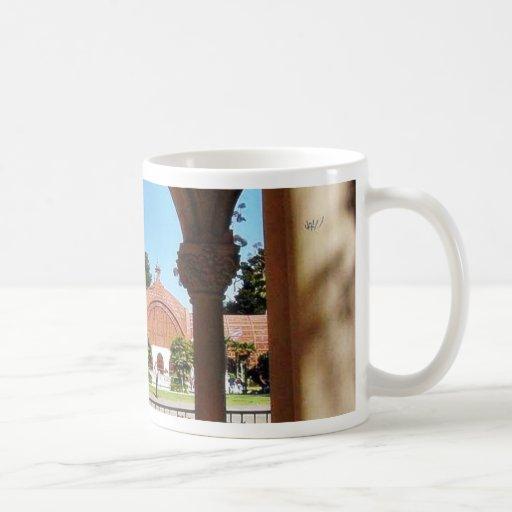 Balboa Park Column Garden Classic White Coffee Mug