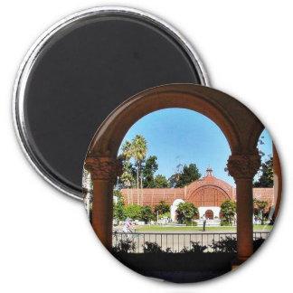 Balboa Park Column Garden Fridge Magnet