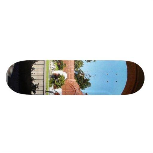 Balboa Park Column Garden Skate Deck
