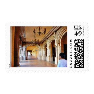 Balboa Park Column Postage Stamps