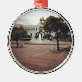 Balboa Park - Fountain Metal Ornament