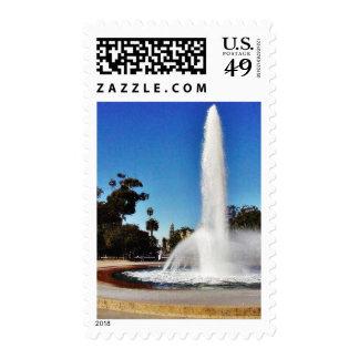 Balboa Park Fountain Postage