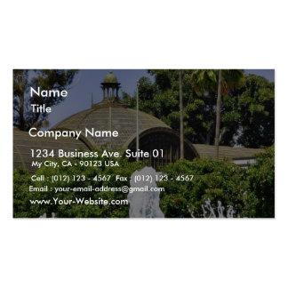 Balboa Park Fountains Business Card