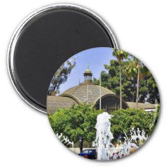 Balboa Park Fountains Refrigerator Magnet