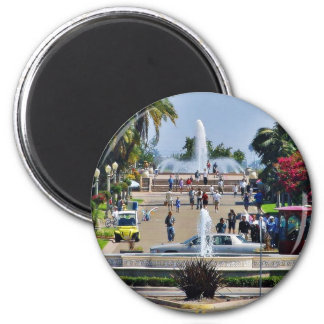 Balboa Park Fountains Prado Gaslamps Magnet