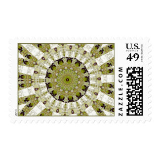 Balboa Park Nature Abstract Postage