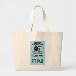 Balboa Park Pit Pass Large Tote Bag
