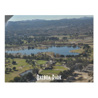Balboa Park Postcard