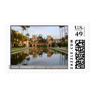 Balboa Park Reflecting Fountain Stamps