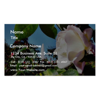 Balboa Park Roses Business Card Templates