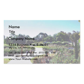 Balboa Park Roses Garden Green Business Cards