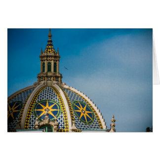 Balboa Park San Diego Dome Star Card