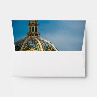 Balboa Park San Diego Mosaic Dome Envelope