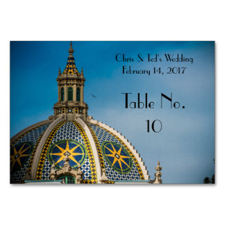 Balboa Park San Diego Mosaic Table Cards