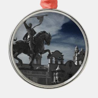 Balboa Park Statue Metal Ornament
