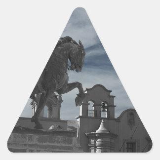 Balboa Park Statue Triangle Sticker