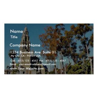 Balboa Park Tower Business Card Templates