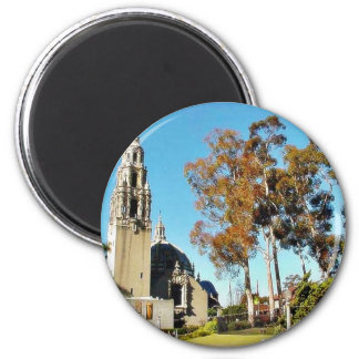 Balboa Park Tower Fridge Magnet