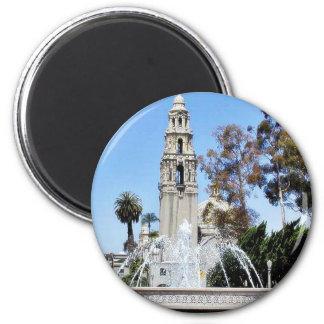 Balboa Park Towers Trees Fountains Sky Fridge Magnets