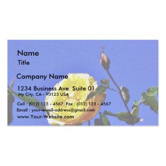 Balboa Park Yellow Roses Garden Business Card Templates