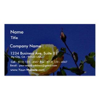Balboa Park Yellow Roses Garden Business Cards