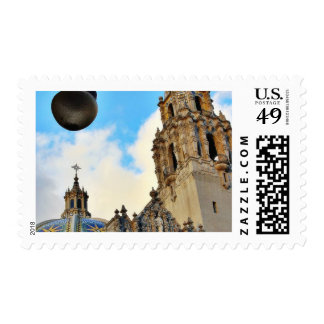 Balboa Parks Streetlamps Stamp