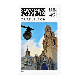 Balboa Parks Streetlamps Stamps