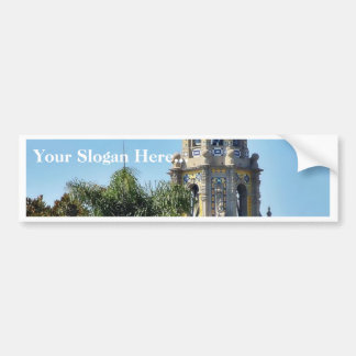 Balboa Parks Towers Bumper Sticker