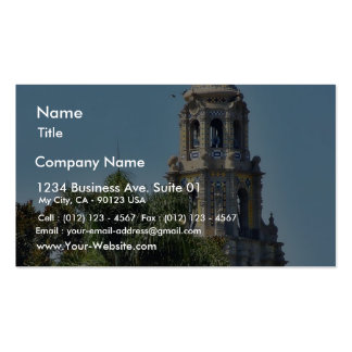 Balboa Parks Towers Business Card Templates