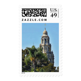 Balboa Parks Towers Postage Stamps