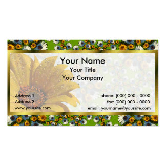 Balboa Pentile Wreaths Lg Any Color Business Card