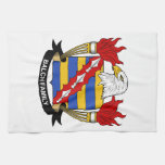 Balch Family Crest Kitchen Towels