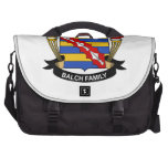 Balch Family Crest Laptop Bags