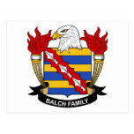 Balch Family Crest Postcards