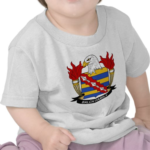 Balch Family Crest T Shirts